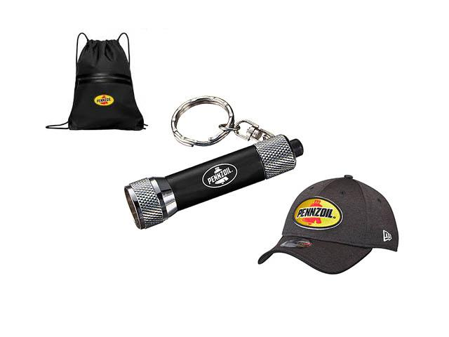 Get A Free Pennzoil Backpack, Flashlight, Keychains And More!