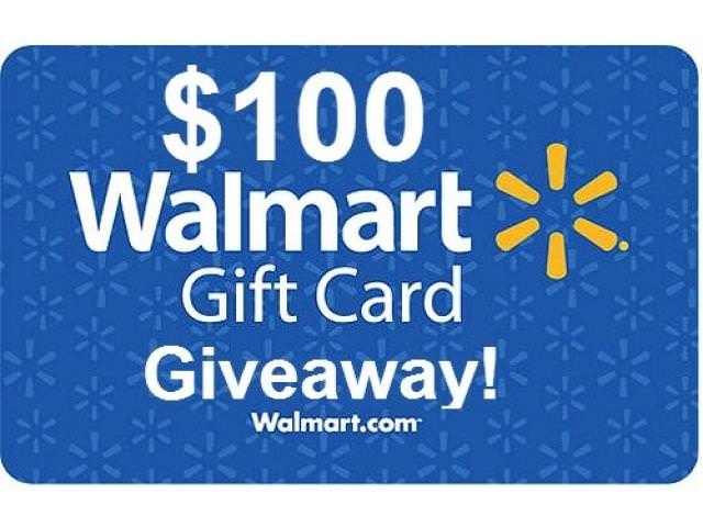 Get A Free $100 Gift Card From Walmart!