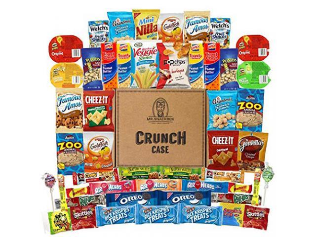 Free Mega Snacks Package (50 Branded Snacks)!