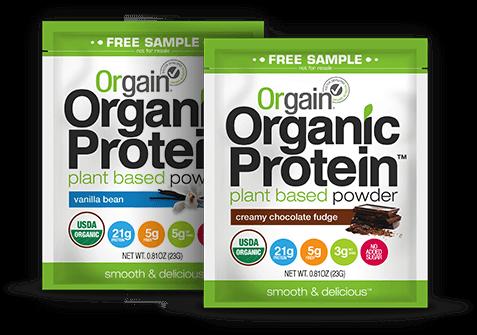 Get A FREE Orgain Organic Plant Based Protein Powder!