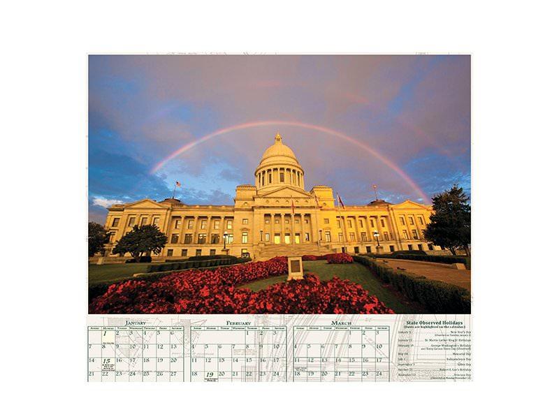 Get A Free Arkansas 2019 Wall Calendar!
