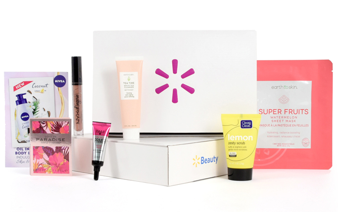 Get A Free Walmart Beauty Box!