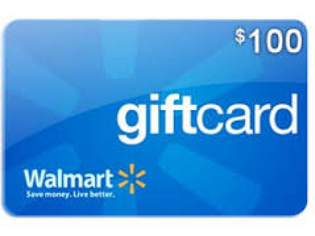 Get A Free $100 Walmart Gift Card!