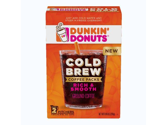 Get A Free Cold Brew Coffee From Dunkin' Donuts!