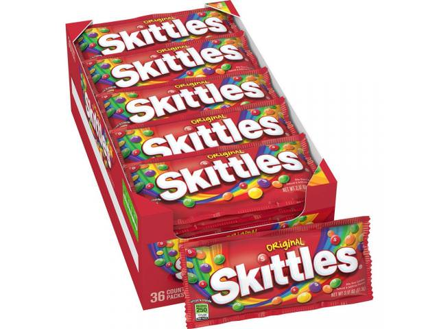 Get A Free Free Pack of Skittles!