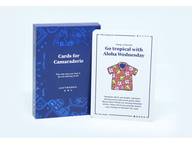Get A Free Deck Of Camaraderie Cards!