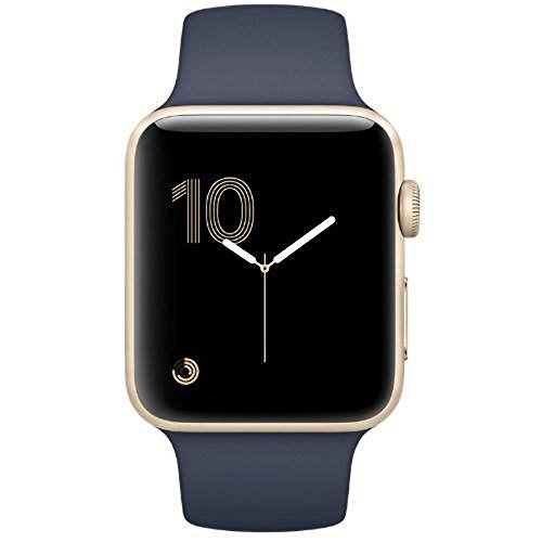 Get A Free Apple Watch Series 2 42mm (Gold Aluminum Case, Midnight Blue Sport Band) MQ152LL/A