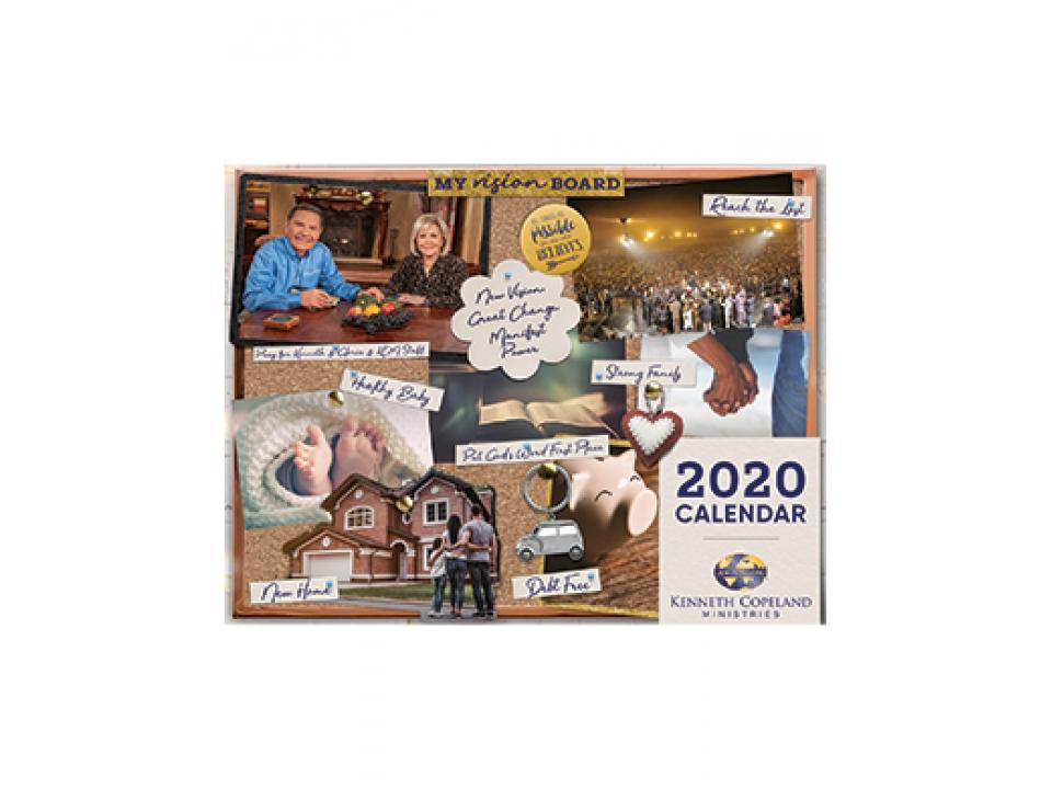Free Kenneth Copeland Ministries 2020 Calendar