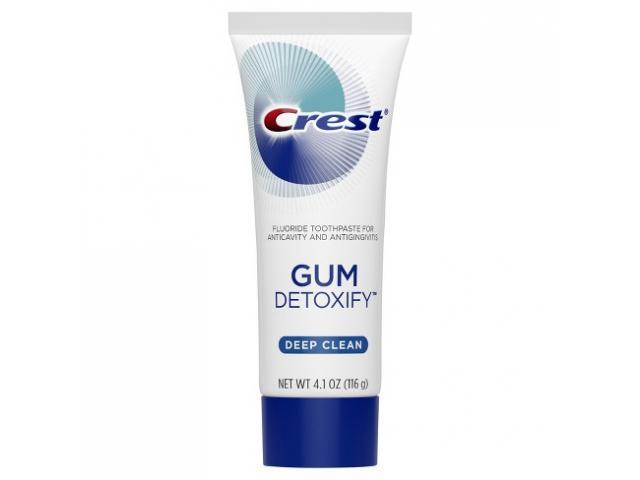 Free Crest Gum Detoxify Deep Clean Toothpaste !