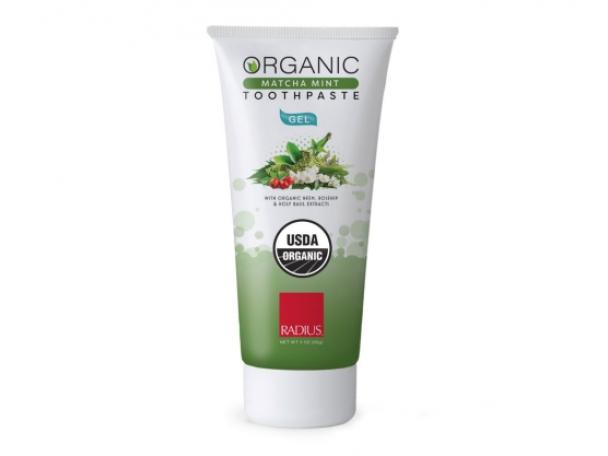 Free Organic Matcha Mint Toothpaste By Radius!