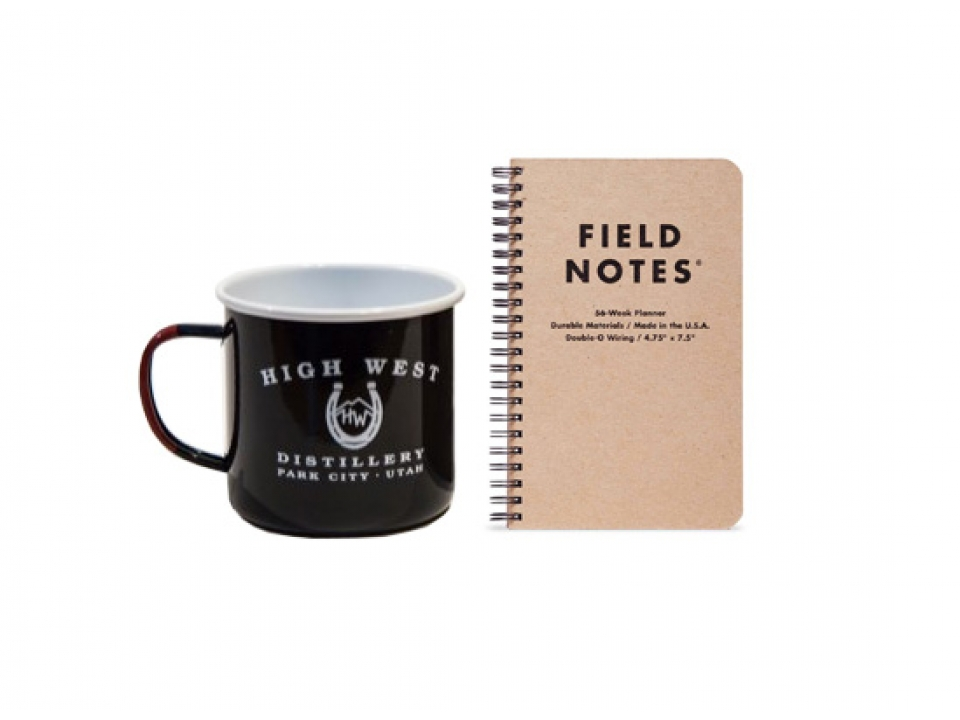 Free Mug + Stickers + Field Notes Notebook From High West Distillery!