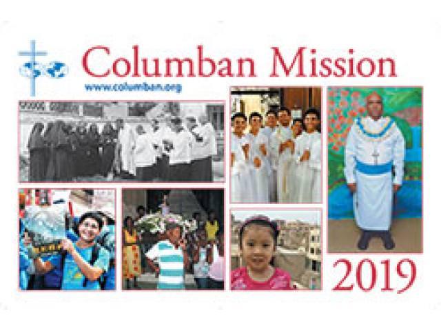 Get A Free Columban Mission Calendar!