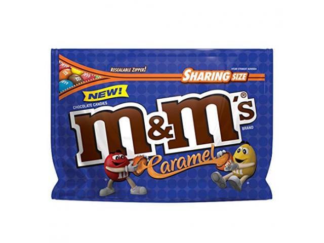 Get A Free M&M'S Caramel!