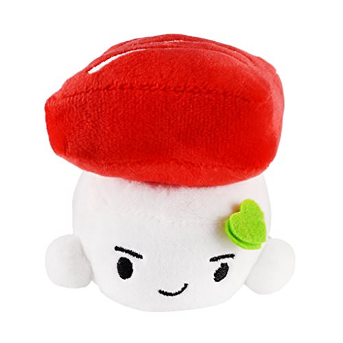 Get A Free Soft Sushi Plush Tuna, Small, 4 inches (10 cm)