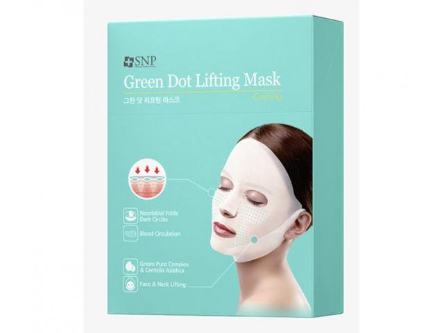 Get A Free PAck Of SNP Green Dot Lifting Mask!