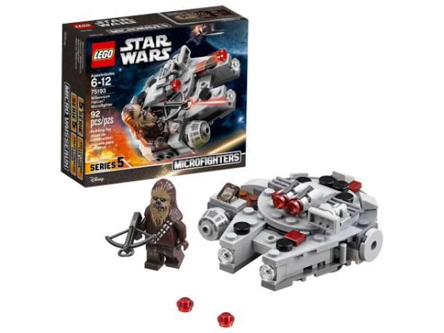 Get A Free LEGO Star Wars Millennium Falcon Microfighter!