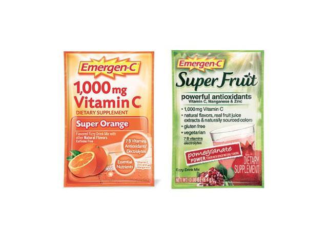 Get A Free Emergen-c Vitamin C Pack!