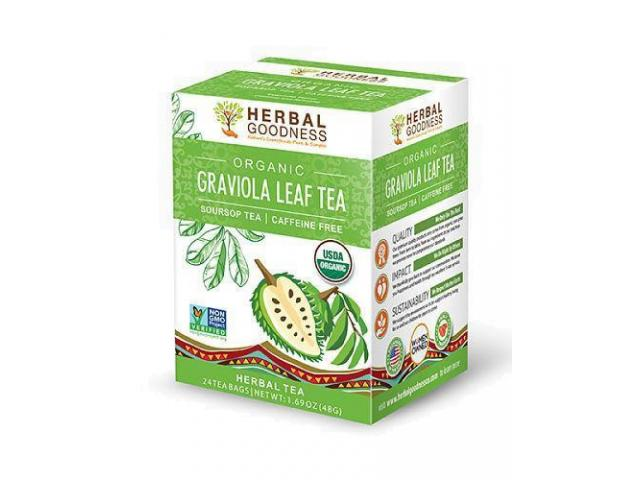Free Herbal Goodness Graviola Leaf Tea!