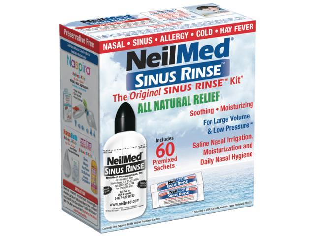 Get A Free Sinus Rinse Kit!