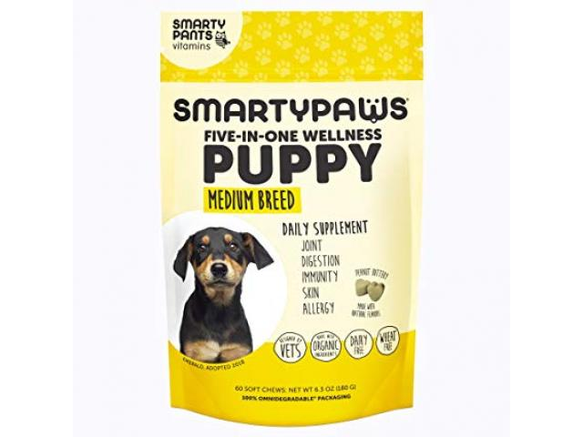 Free Dog Supplement By SmartyPaws!
