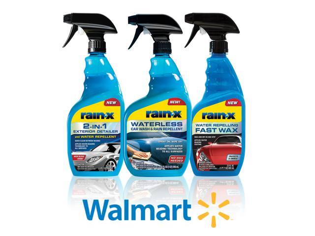 Get A Free Rain-X Waterless Car Wash & Rain Repellent!