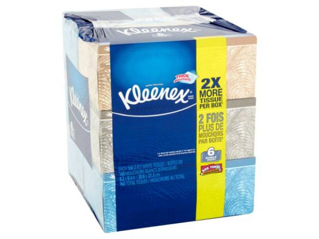 Get A Free Kleenex 2-Ply White Tissues Bundle Pack, 6 pack!