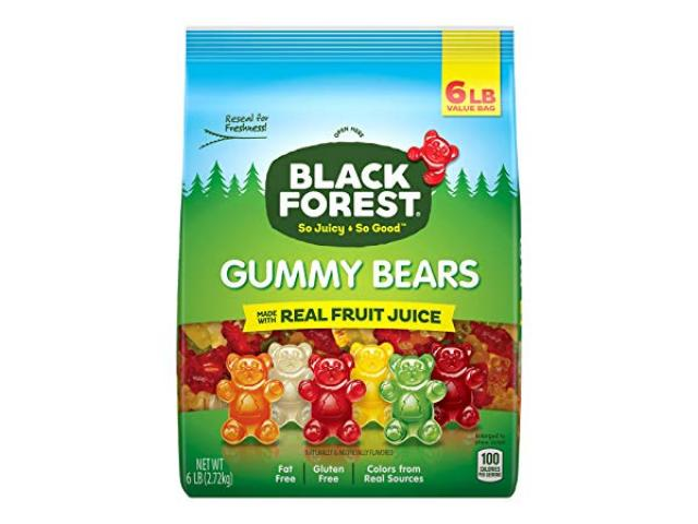 Free Gummies By Black Forest!