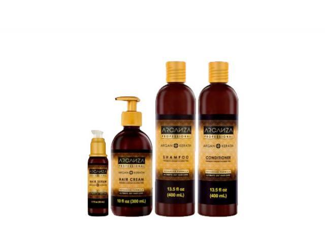 Get A Free Arganza Shampoo, Hair Mask And Hair Serum!