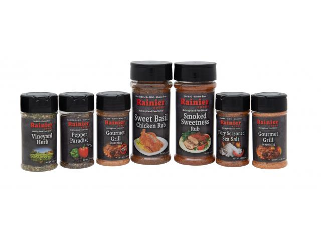 Free Herb And Pepper Seasonings!