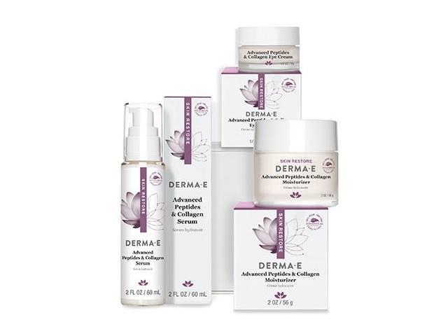 Get A Free DERMA-E Advanced Peptides and Collagen Serum + Moisturizer!