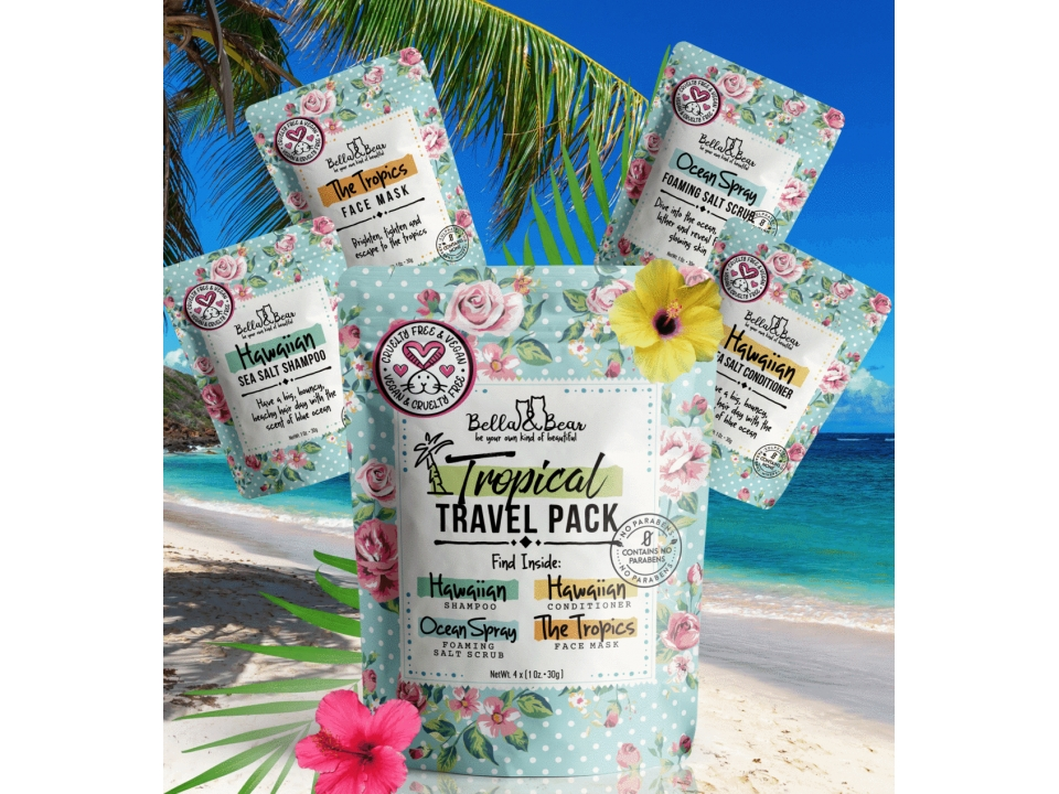 Free Travel Pack By Bella & Bear