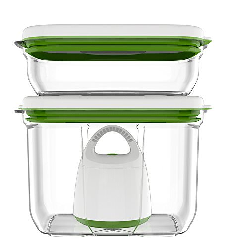 Get A Free FOSA Vacuum Food Storage Starter Set - Rectangular container