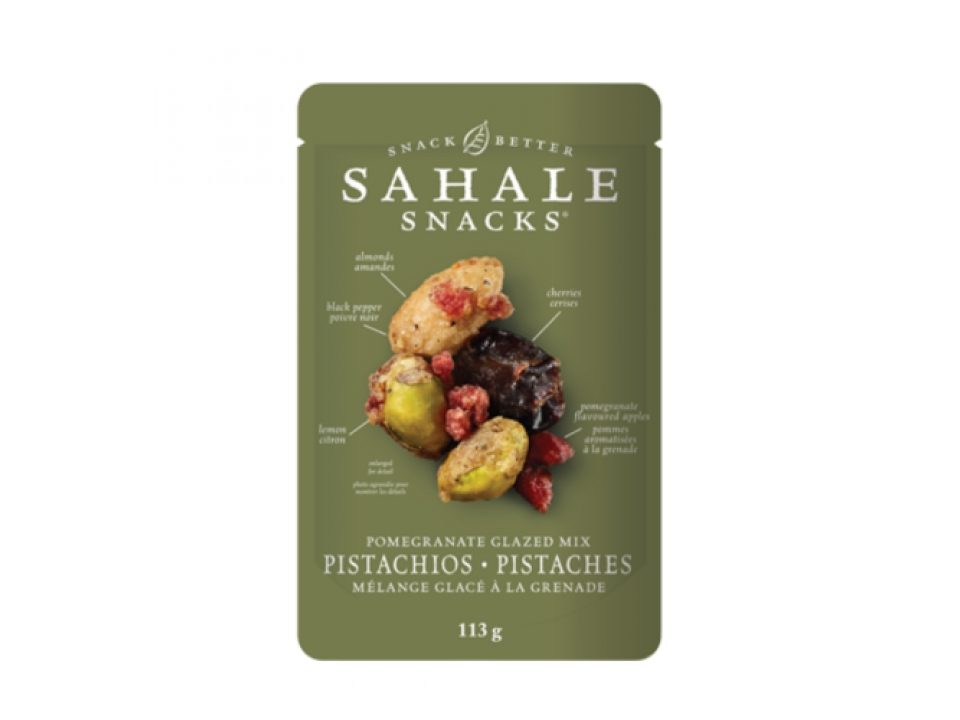 Free Pistachios Snack Mix From Sahale