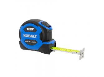 Free Kobalt 25-ft Auto Lock Tape Measure!