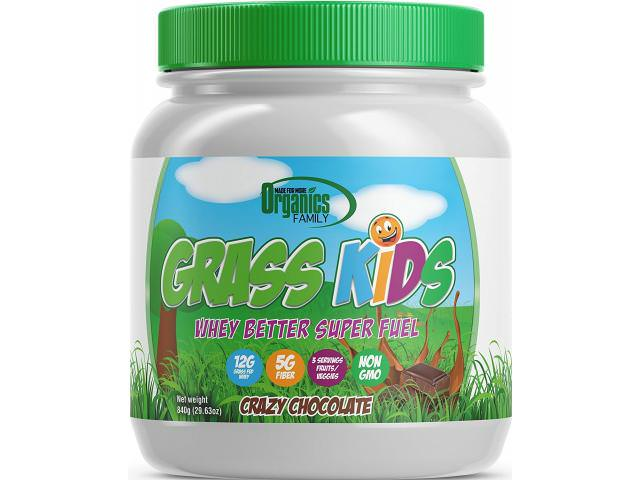 Get A Free Grass Kids Crazy Chocolate Whey!