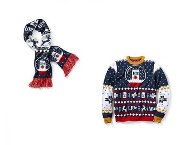 Get A Free Miller Knitwear Sweater / Scarf!