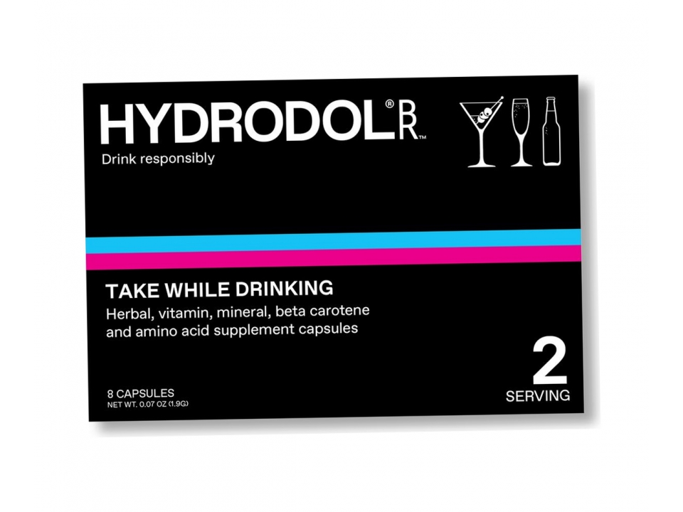 Free Hangover Relief  From Hydrodol!