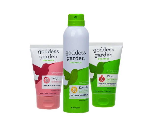 Get A Free Goddess Garden Facial Care Sample!