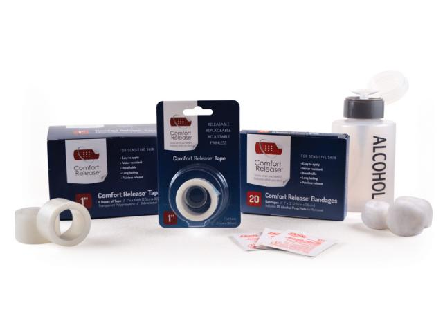 Free Comfort Release Bandages + Tape!