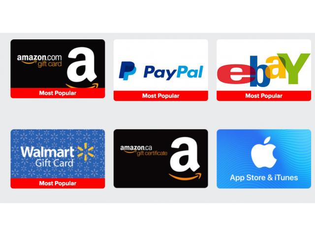 Amazon Or Walmart Gift Cards For Your Opinion!