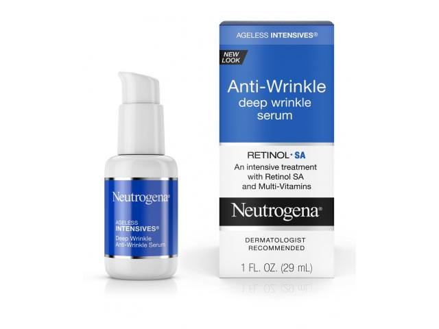Get A Free Neutrogena Anti-Wrinkle Serum!