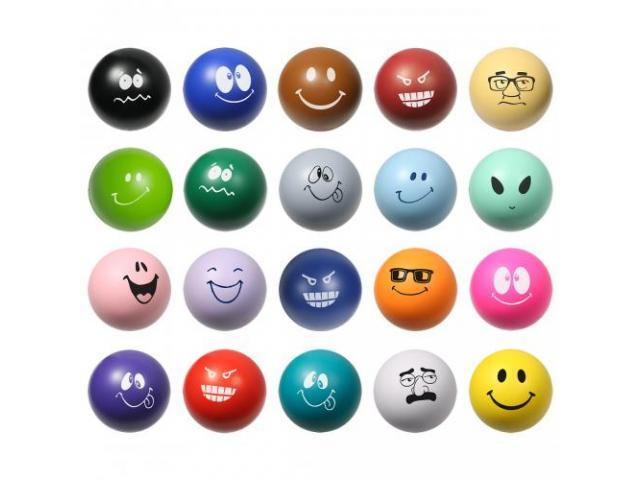 Get A Free Emoticon Stress Ball!
