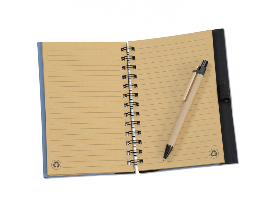 Free Notebook With Pen By Inspired!