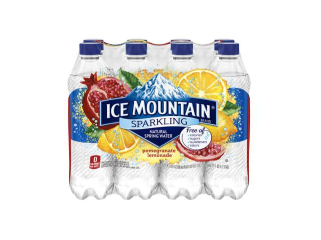 Get A Free 8-Pack Of Sparkling Ice Mountain Brand Natural Spring Water!