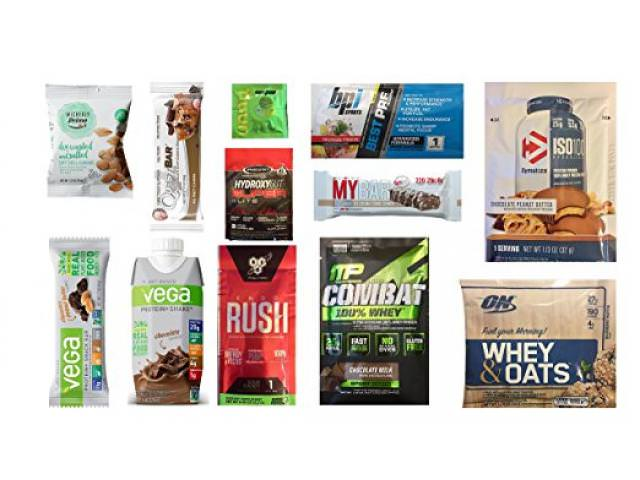 Get A Free Weight Loss Nutrition Sample Box!