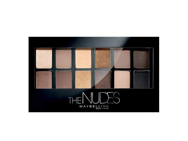Get A Free Maybelline The Nudes Eyeshadow Palette!