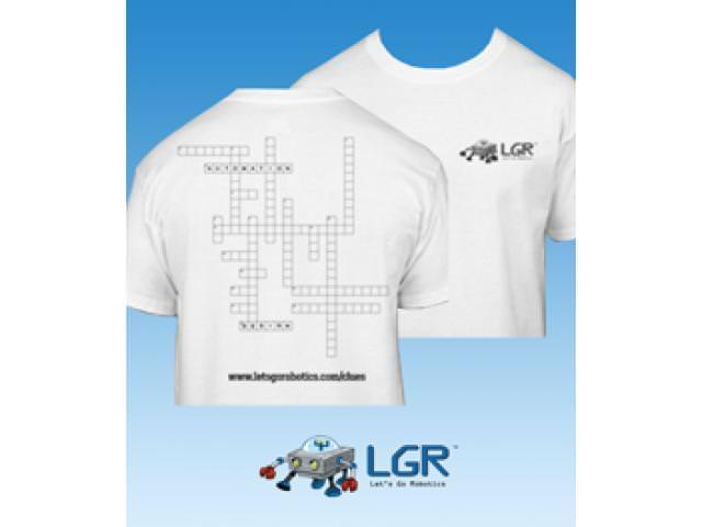 Get A Free Let's Go Robotics T-Shirt!
